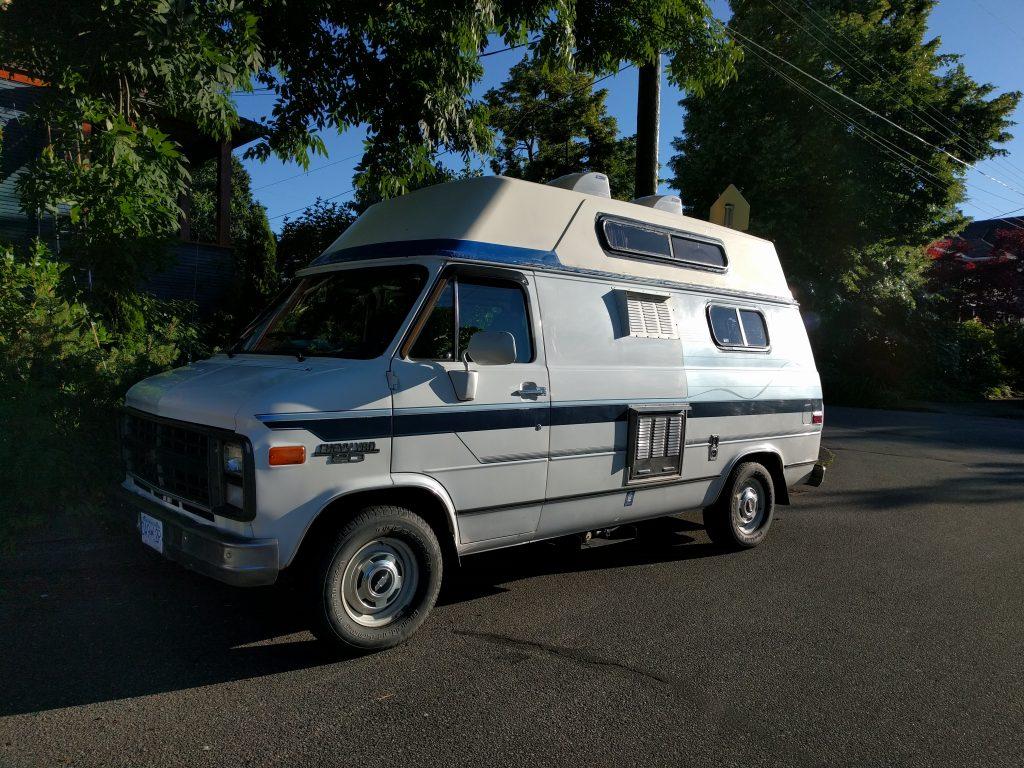 Walter, notre van acheté à Vancouver