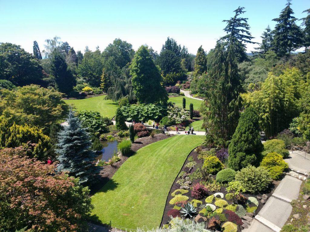 Les jardins du Queen Elizabeth Park