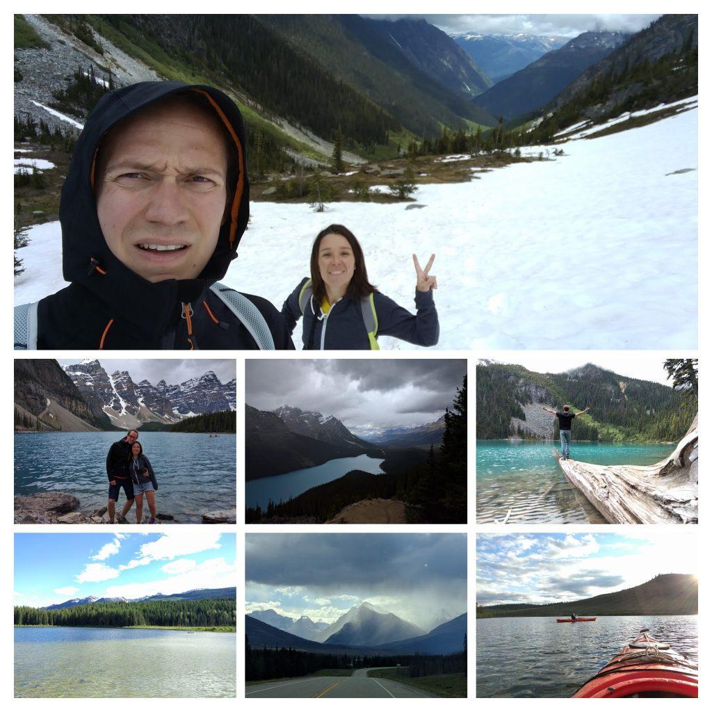 Mosaïque route des Glaciers Canada
