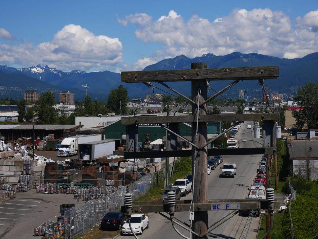 Les montagnes autour de Vancouver