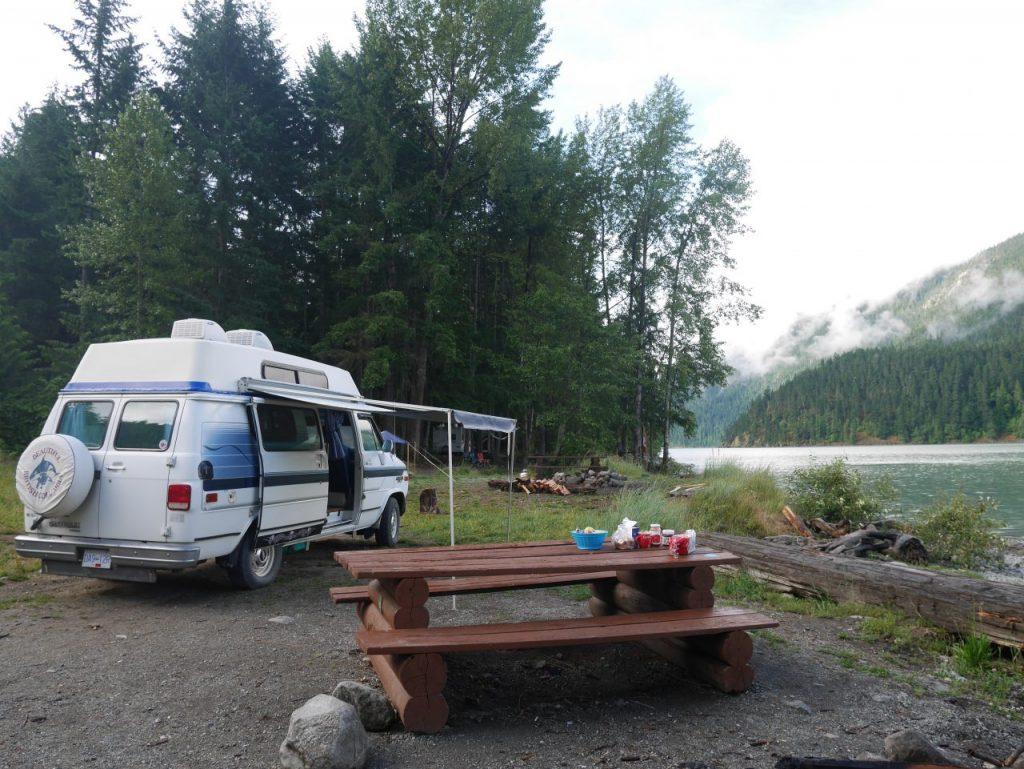 camping près de Whistler