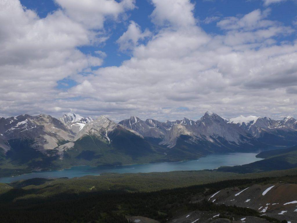 Randonnée Bald Hills dans Jasper National Park