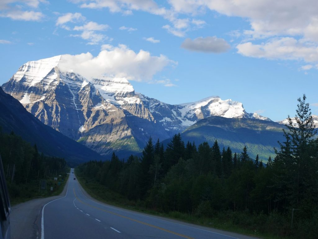 Le mont Robson, Robson Provincial Park Canada