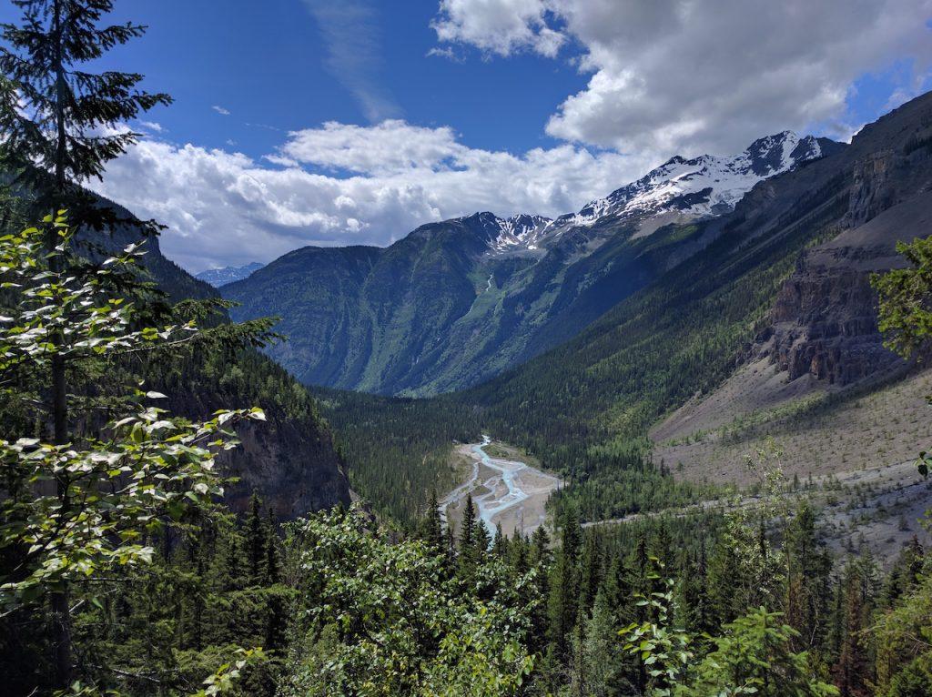 La vallée des mille cascades