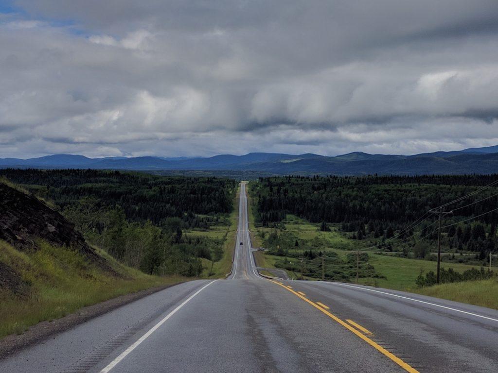 Les plaines de l'Alberta