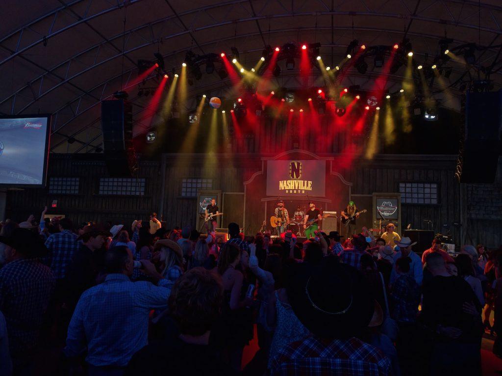 Concert de country au Stampede
