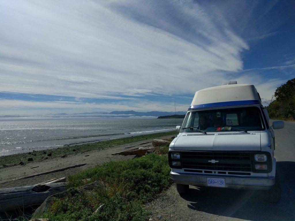 Esquimalt lagoon à deux pas de Victoria !