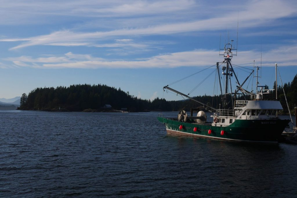 Quadra Island, une des innombrables îles de Vancouver Island