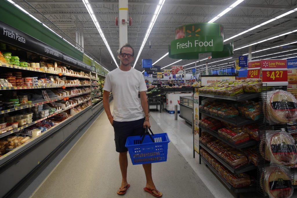 Toujours chic même au Walmart !