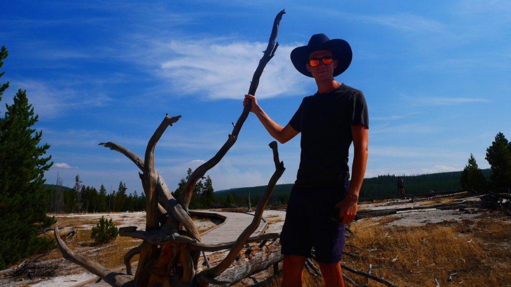Le soleil cogne fort, le chapeau est indispensable