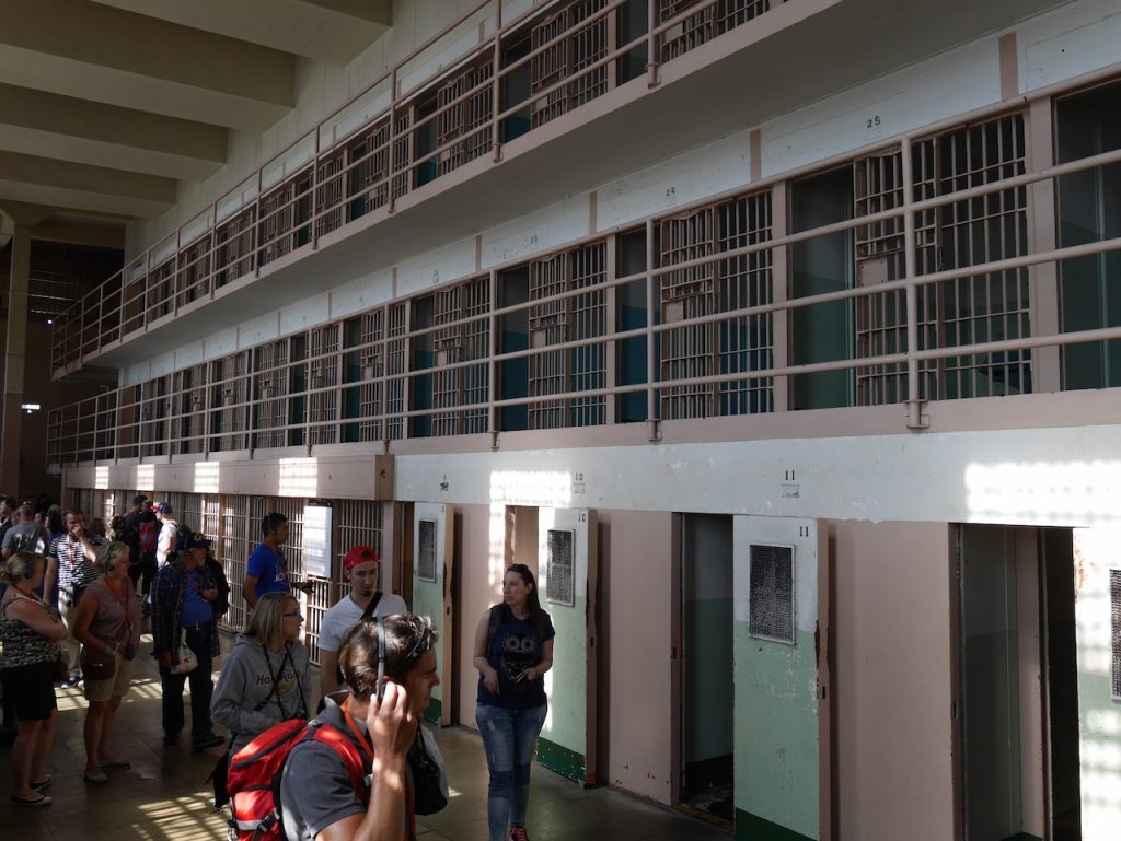 Alcatraz cellules d'isolemen