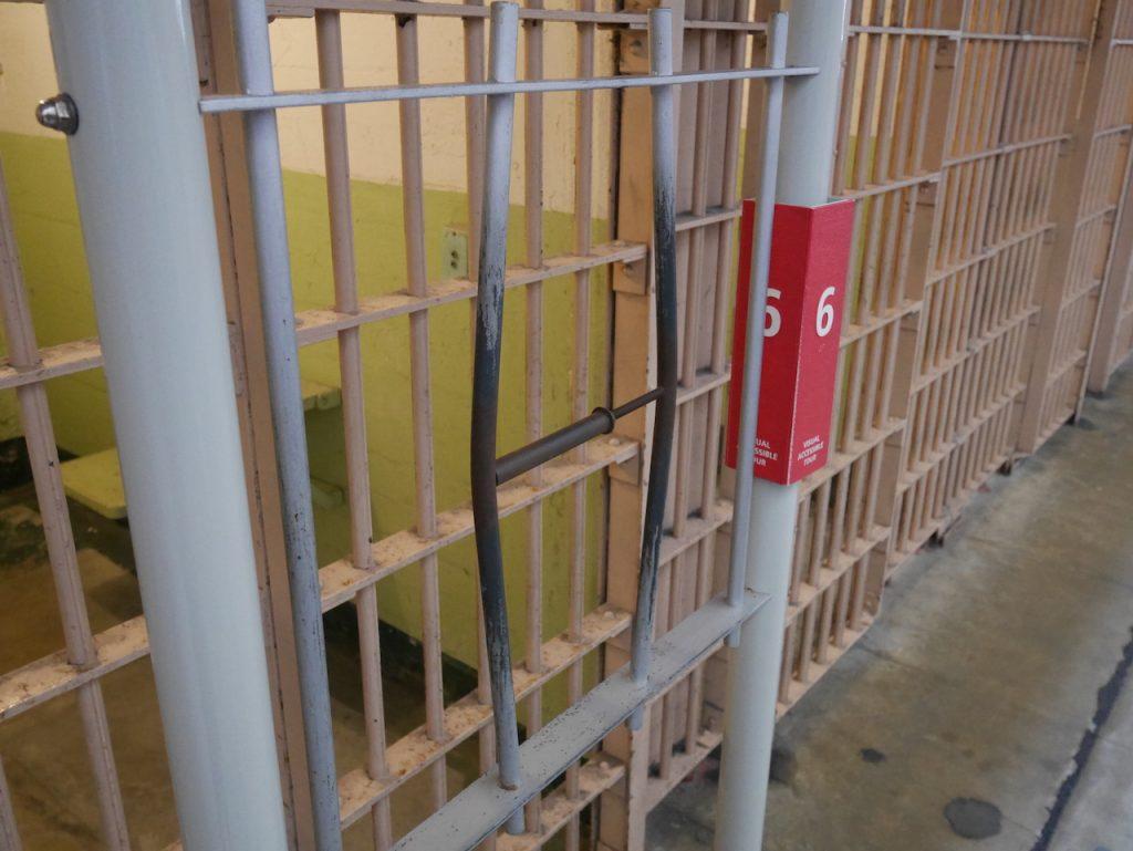 Un écarteur de barreau Alcatraz
