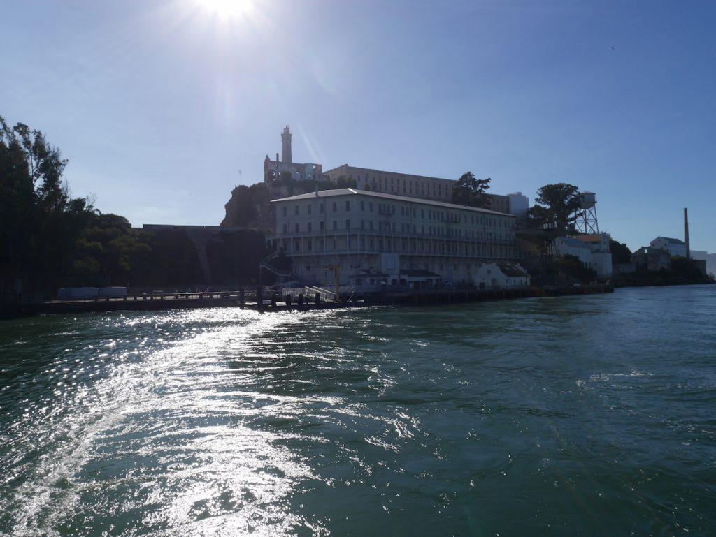 Alcatraz au soleil
