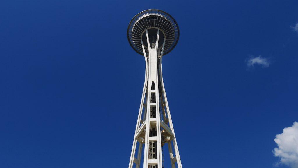La célèbre Space Needle à Seattle