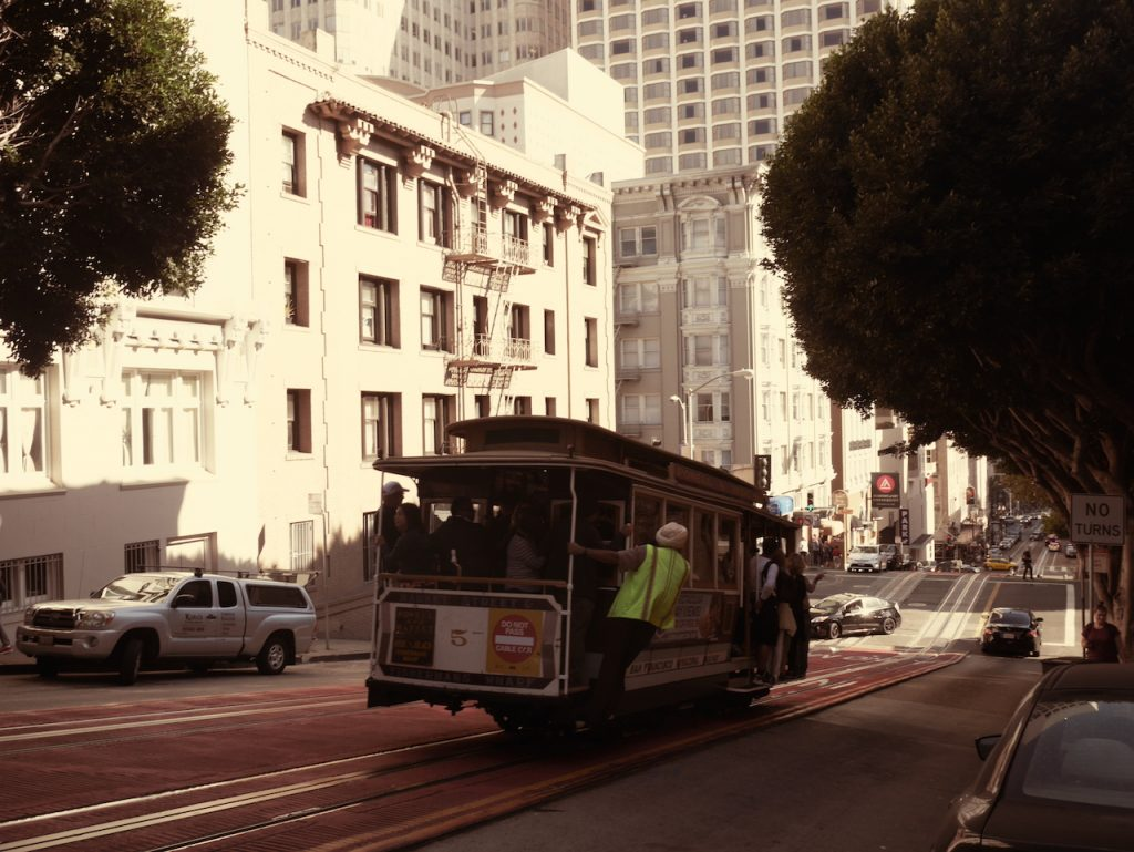 Les fameux tramway de San Francisco