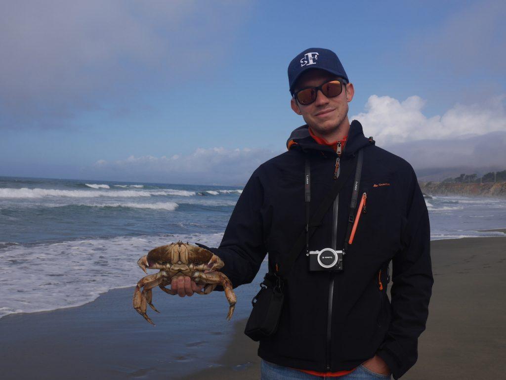 Quel homme ! Quel crabe !