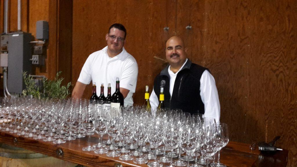 Ricardo, assistant wine maker à la Next Gen Party