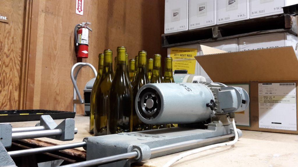 Labelling du Chardonnay 2013