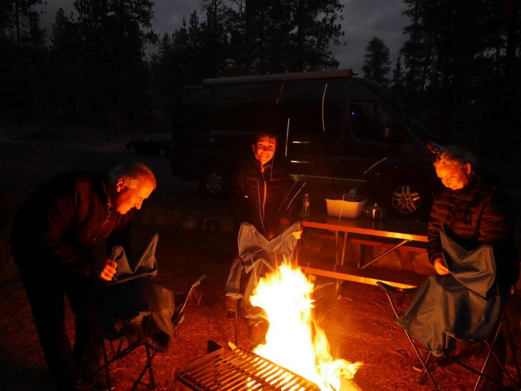 Les soirées au coin du feu
