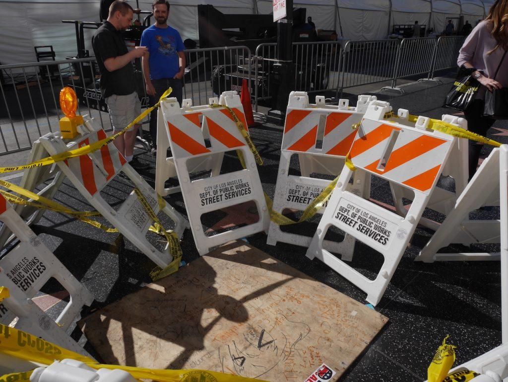 L'étoile de Trump détruite sur le Walk of Fame à Hollywood
