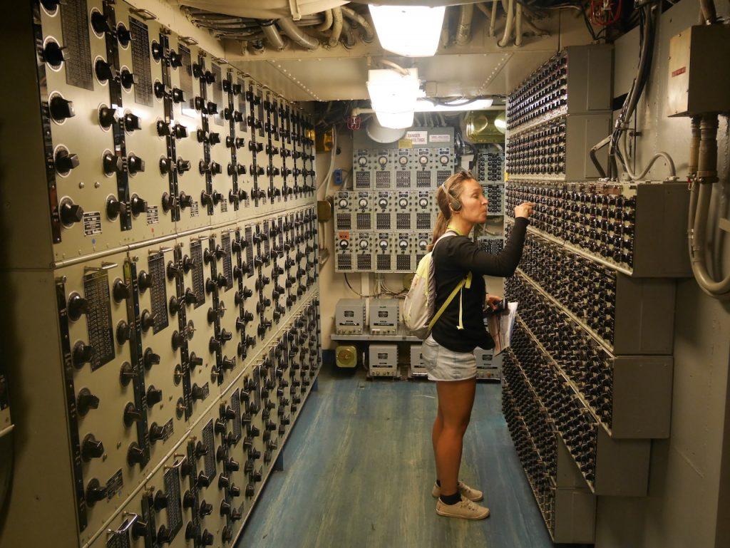 Aurélie USS Midway chef de la com