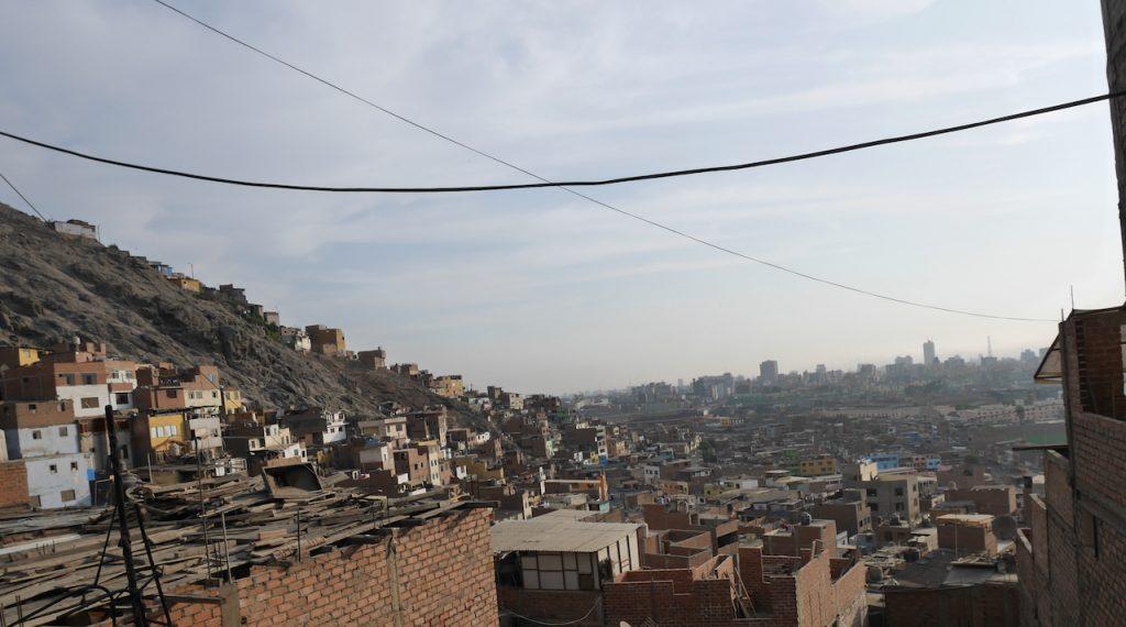Les bidonvilles de Lima