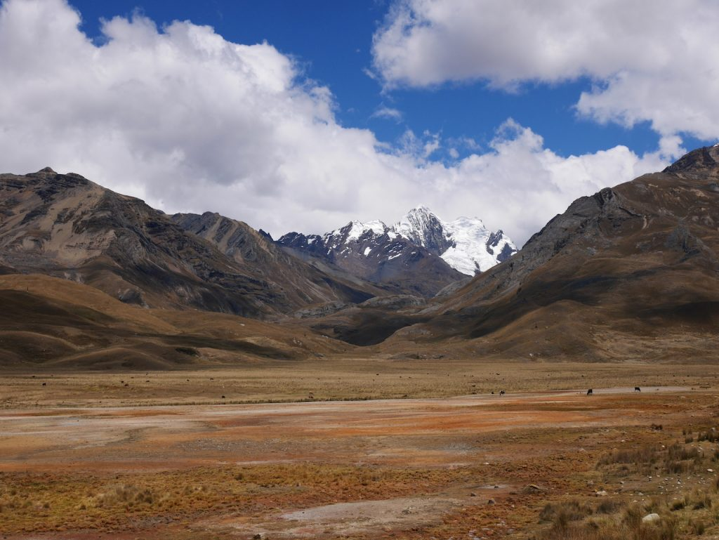 Le sud du Huascaran National Park