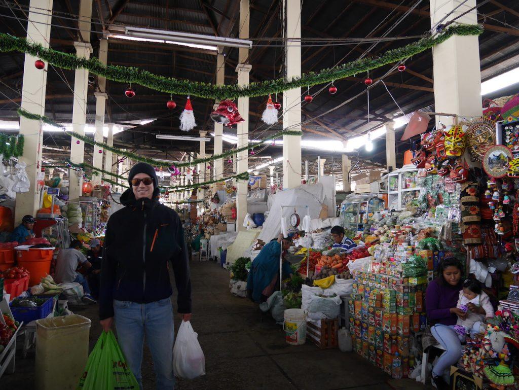 Le marché central de Cuzco.
