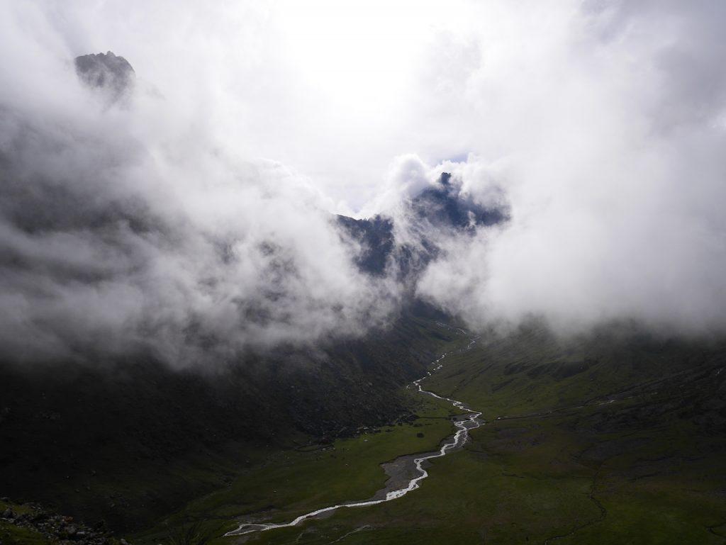 Les nuages sont toujours là, mais les paysages restent magnifiques