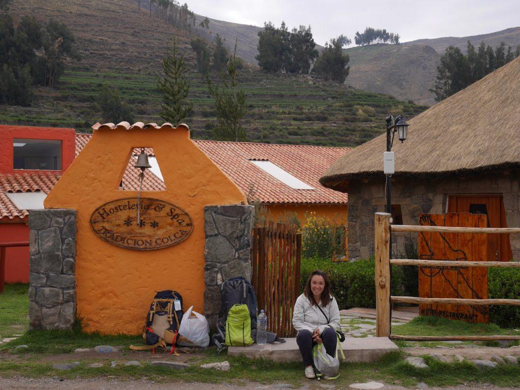 Aurélie prête pour partir en Bolivie !