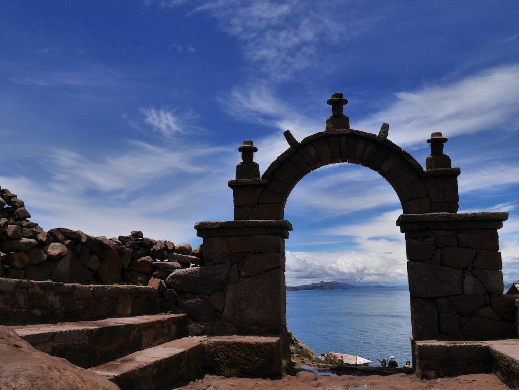 Les portails de l'île de Taquile