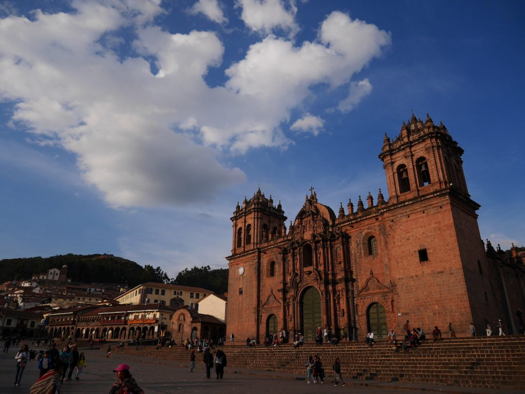 Place des armes à Cuzco