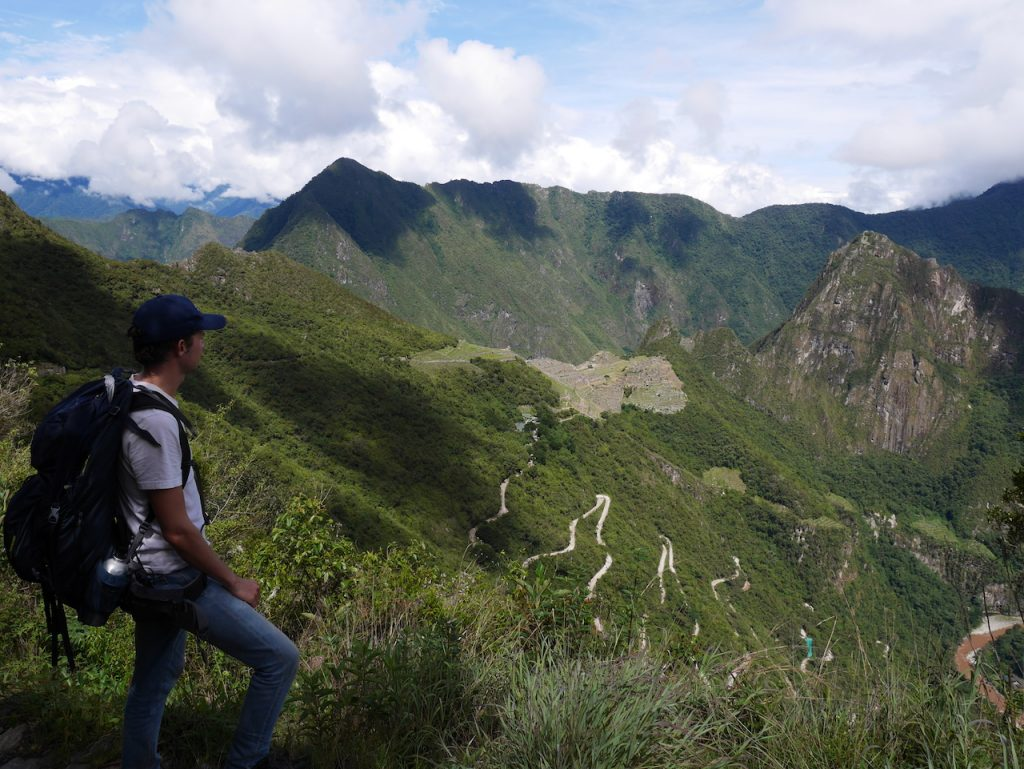 Vue du Machu Picchu depuis la Puerta del Sol