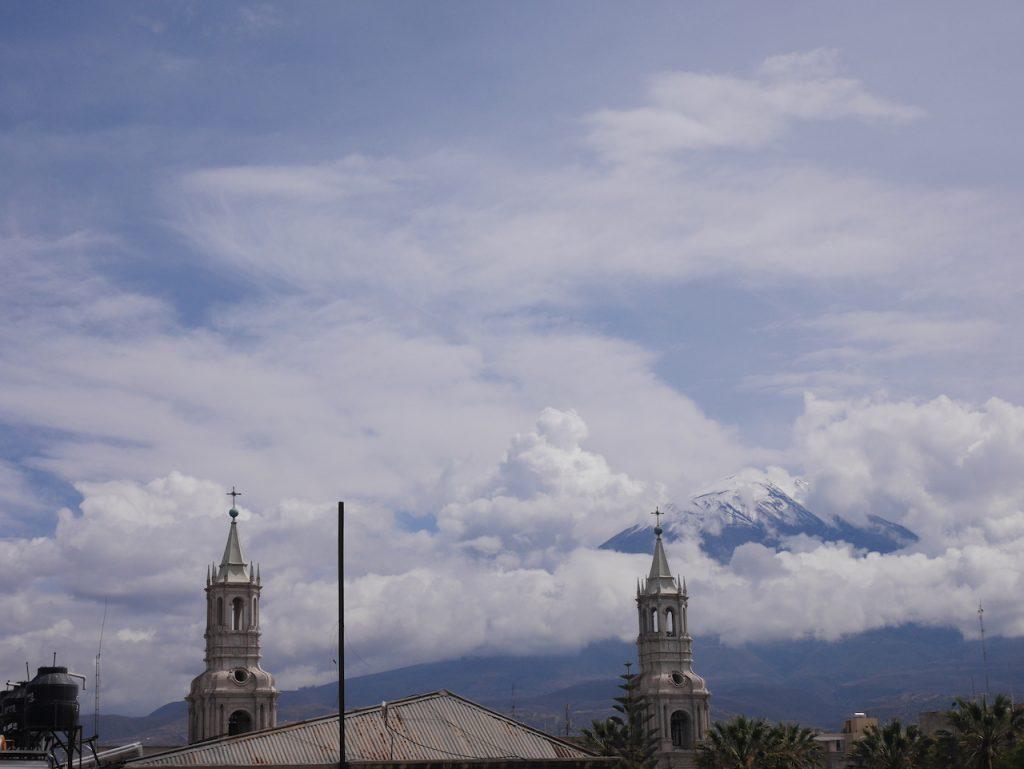 Arequipa et son volcan El Misti