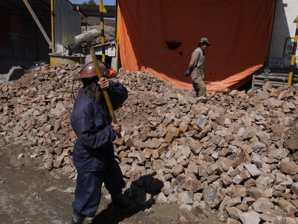 Aurélie recalée travail dans les mines de Potosi