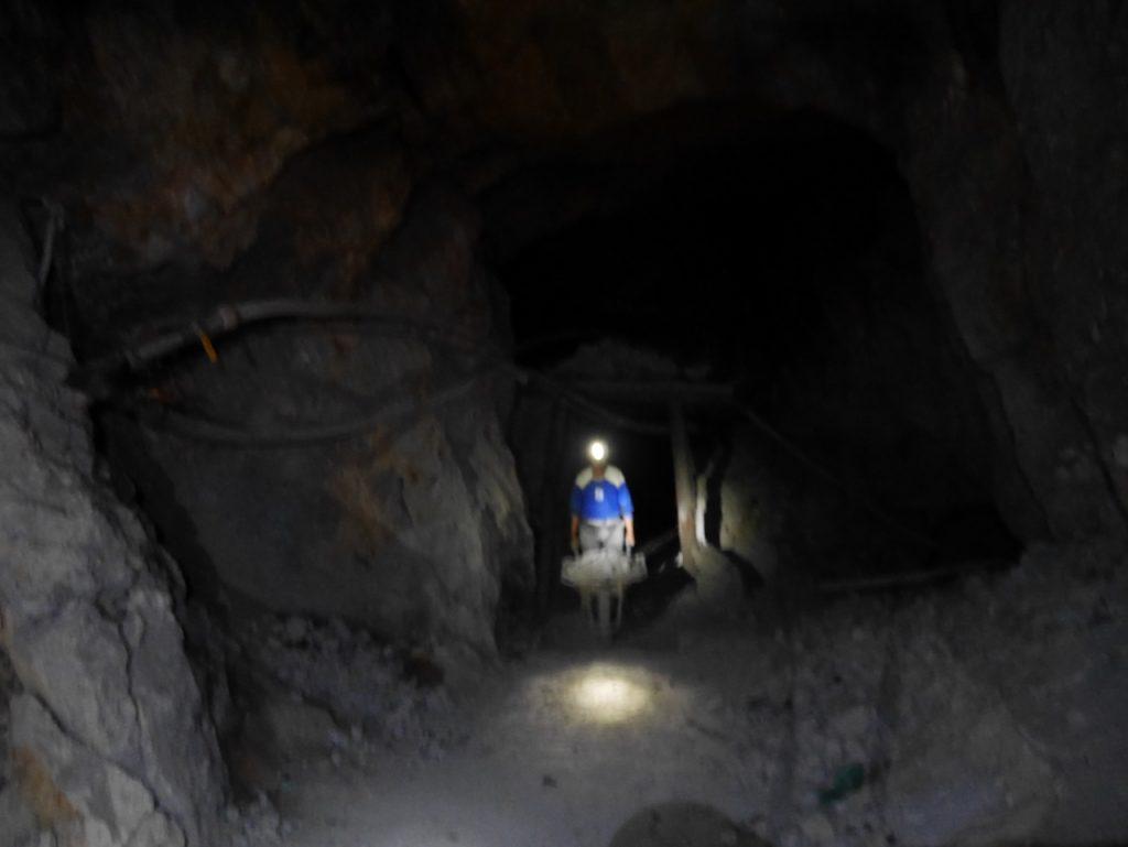 Tunnel principal mines de Potosi