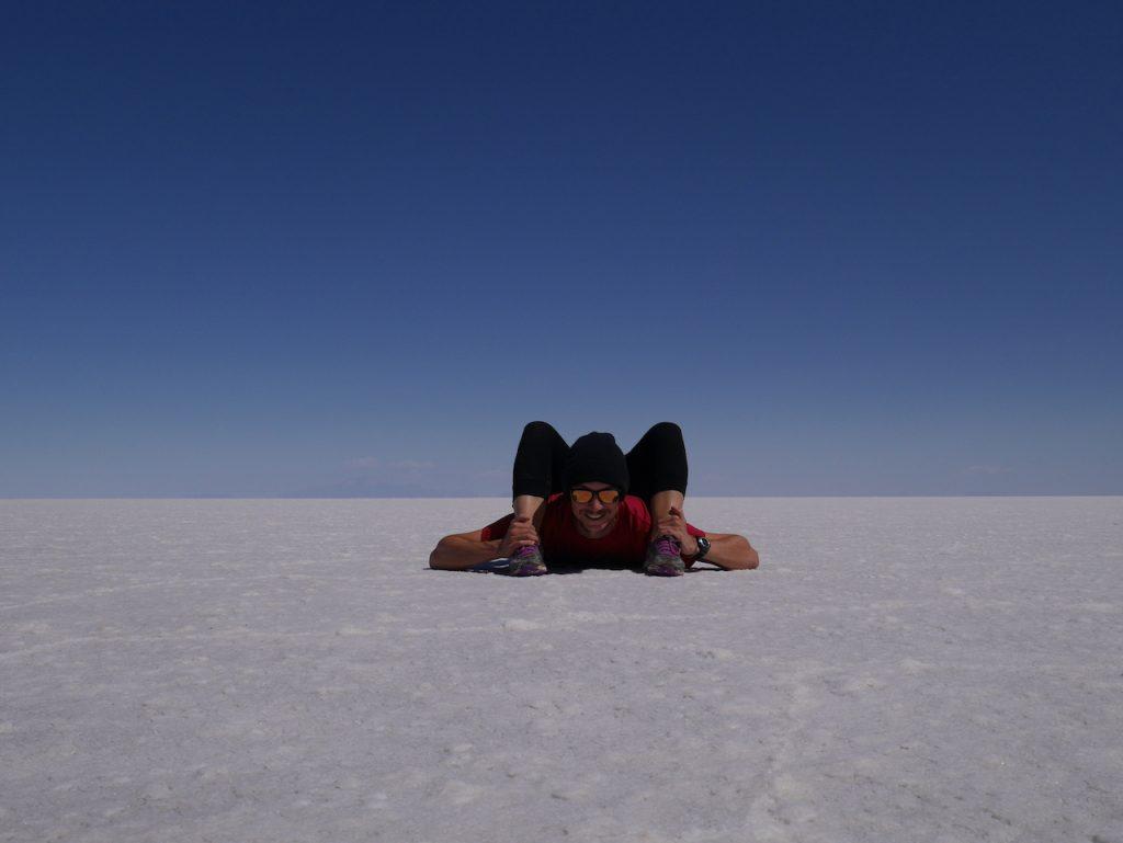 Souplesse Salar d'Uyuni