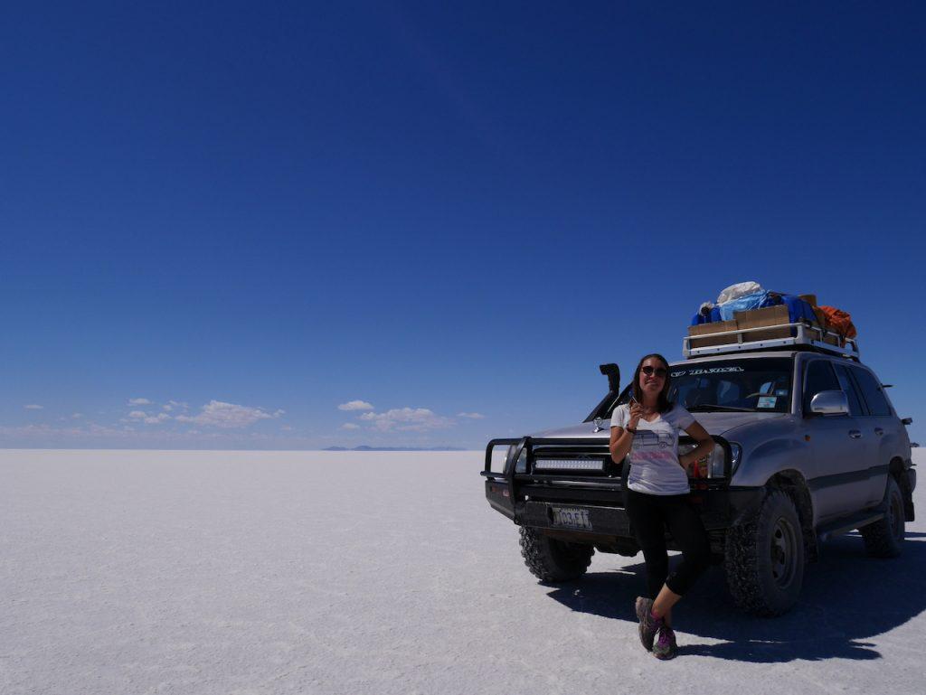 Salar de Uyuni Jeep Aurélie