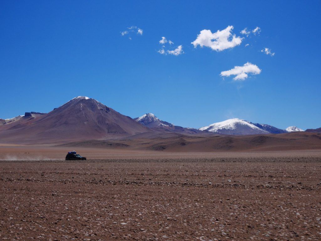 En route vers laguna colorada