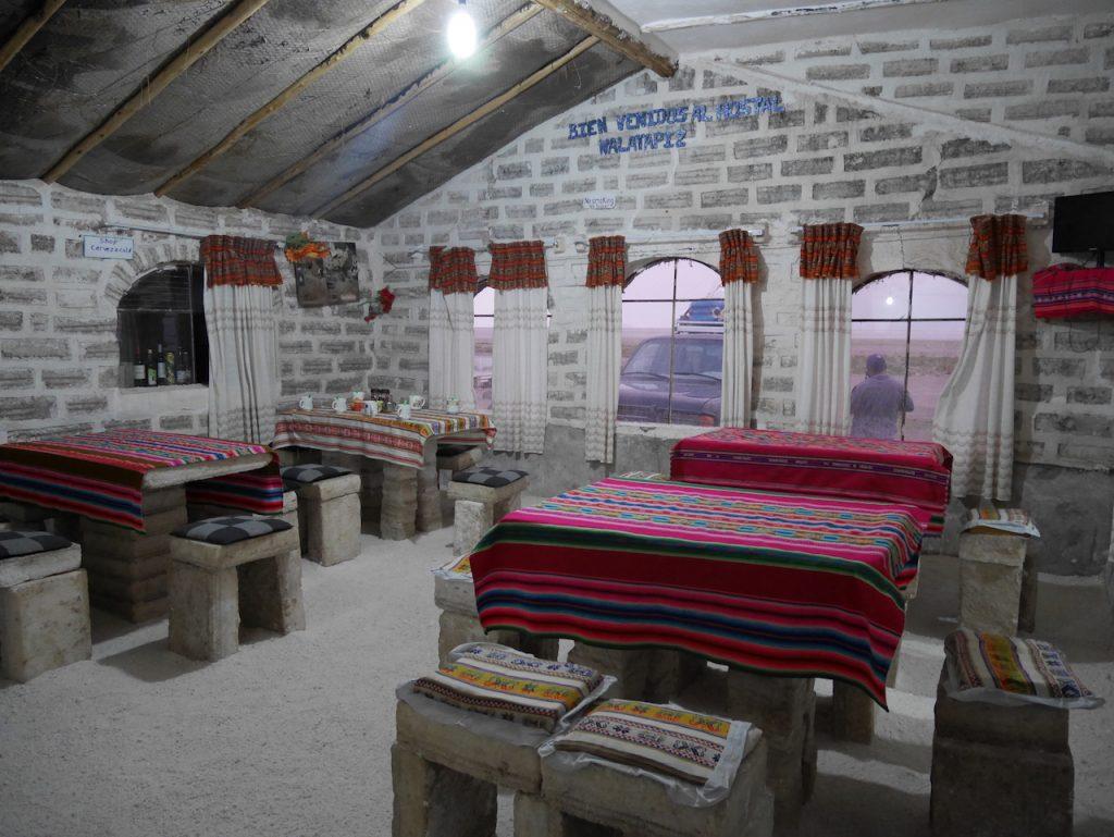 Hôtel de sel Salar de Uyuni