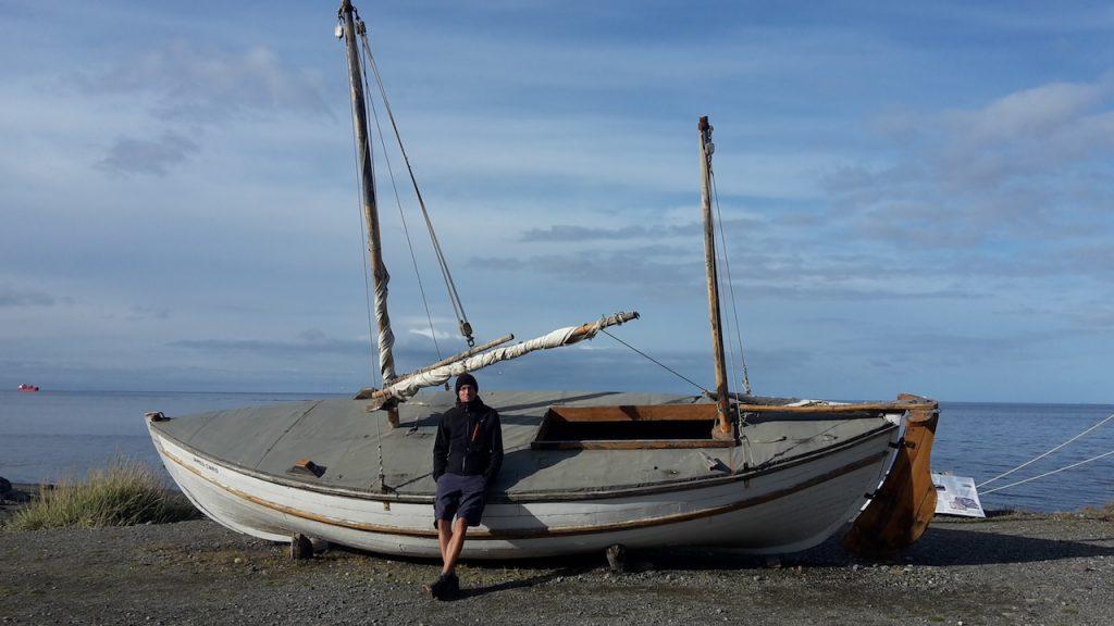 Le James Caird, la baleinière de Sir Ernest Shackelton