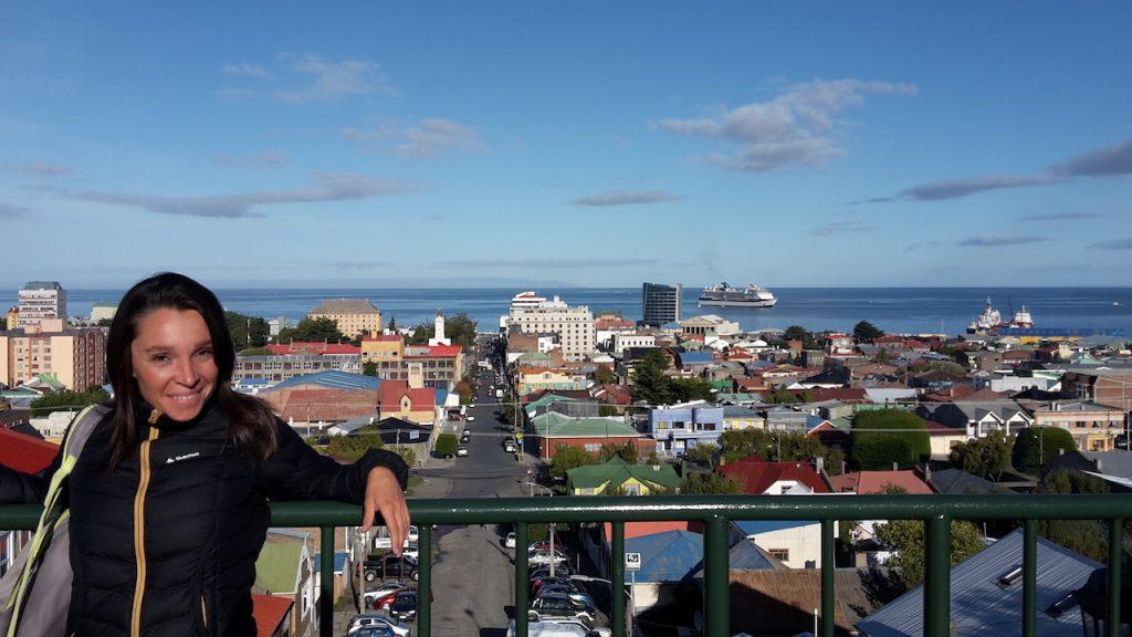Les hauteurs de Punta Arenas