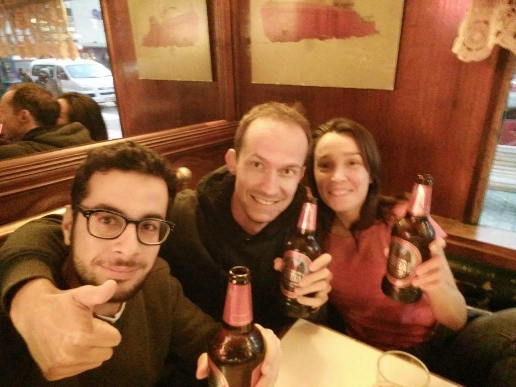 Loïc nous rejoint à Punta Arenas