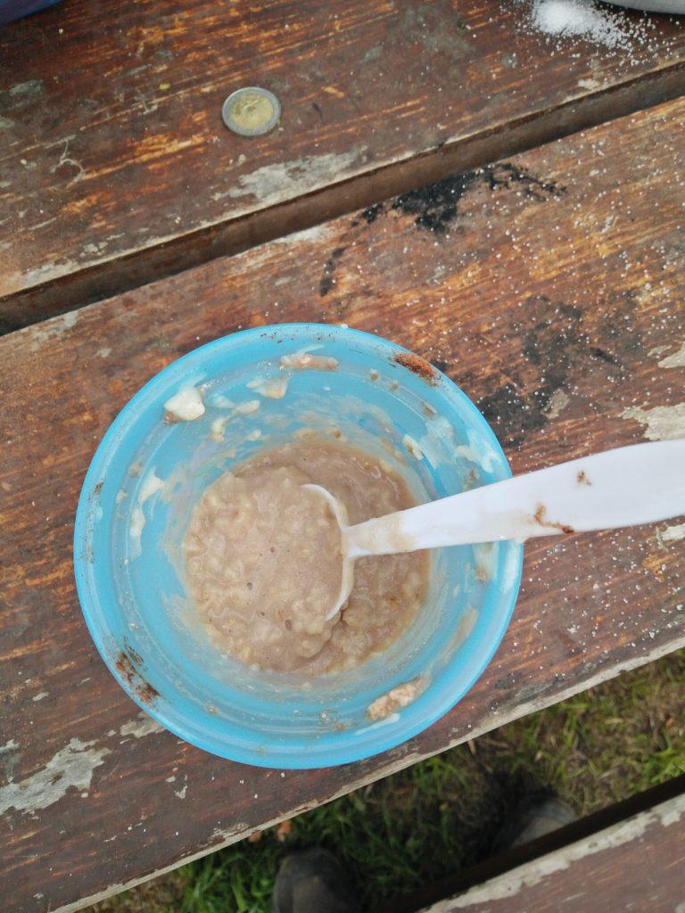 porridge torres del Paine