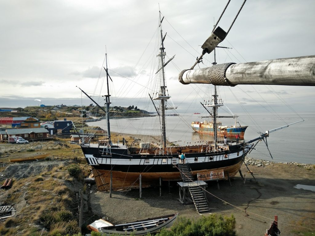 HMS Beagle, le bateau de Darwin