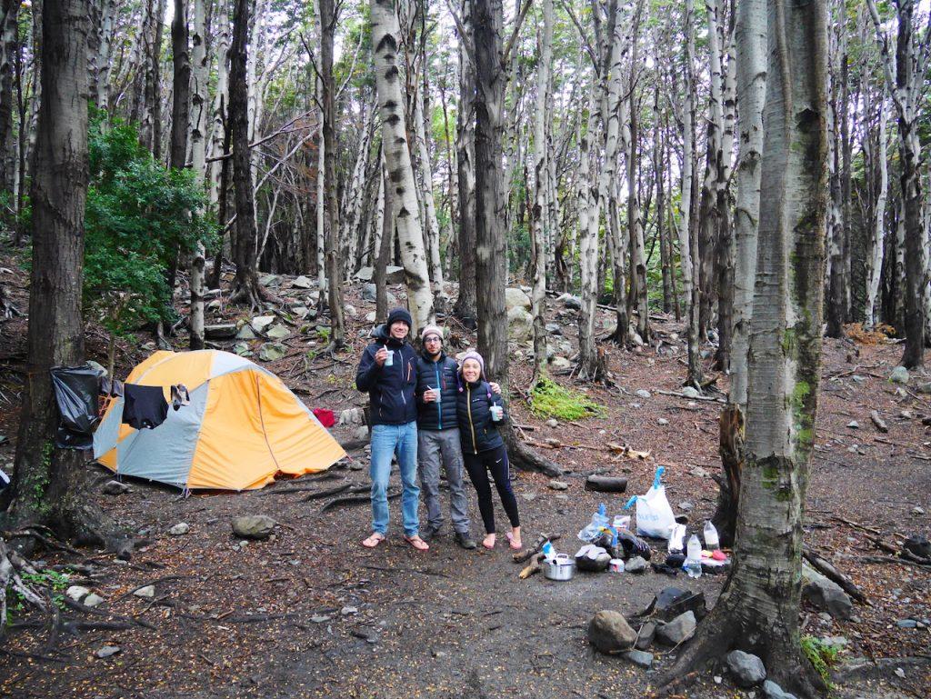 Campamento Italiano Torres del Paine