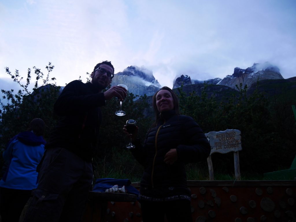 Refuge Los Cuernos Torres de Paine