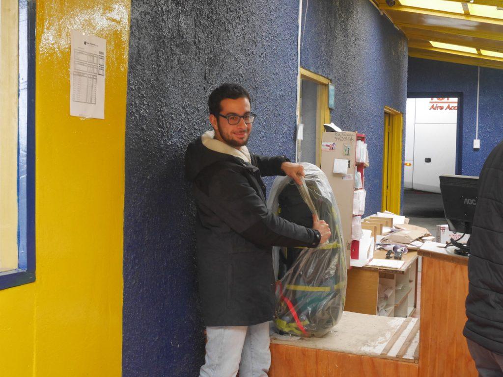 sac Loïc Puerto Natales
