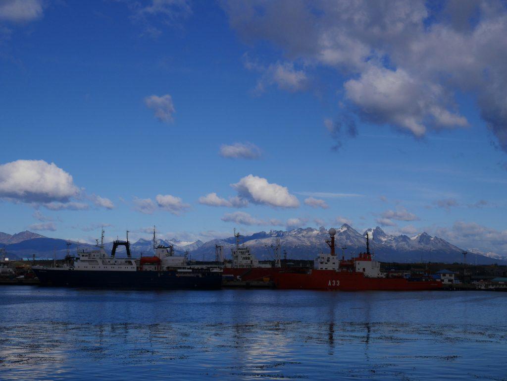 Ushuaïa port