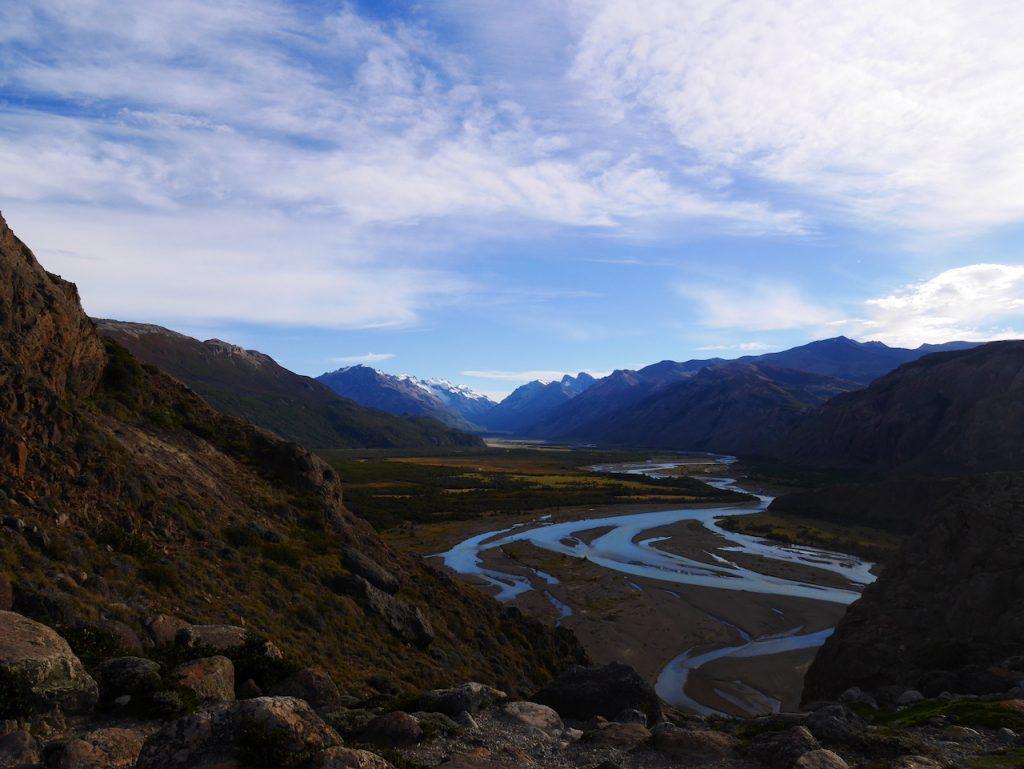 vallée du río de las Vueltas